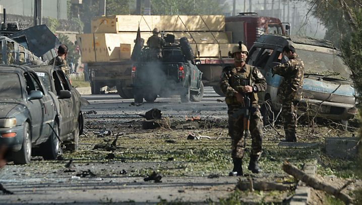Anschlag nahe US-Botschaft: Attentat in Kabul