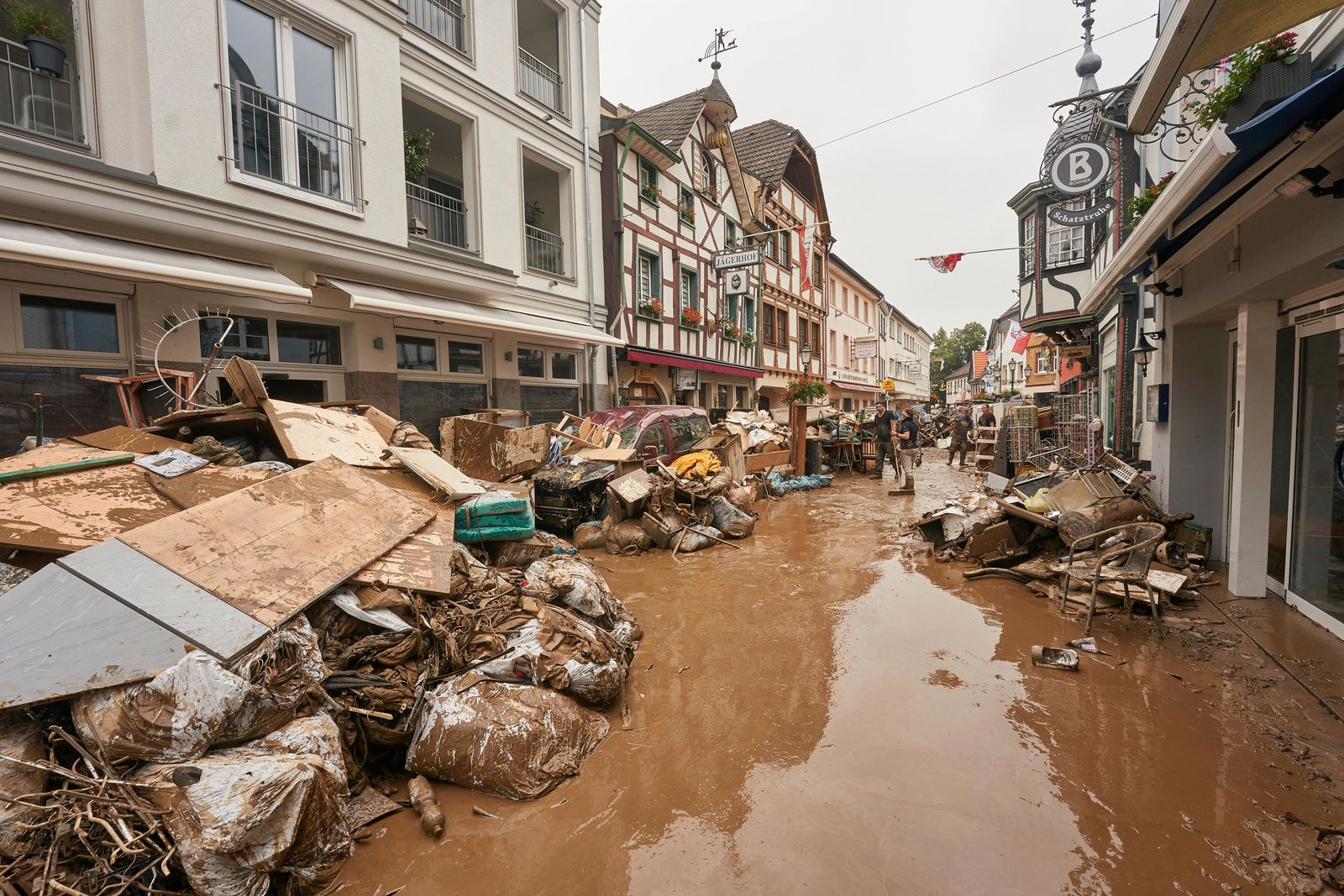 Hochwasserkatastrophe - Ahrweiler