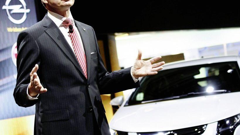 Opel-Chef Stracke: Chaos im Management hält an
