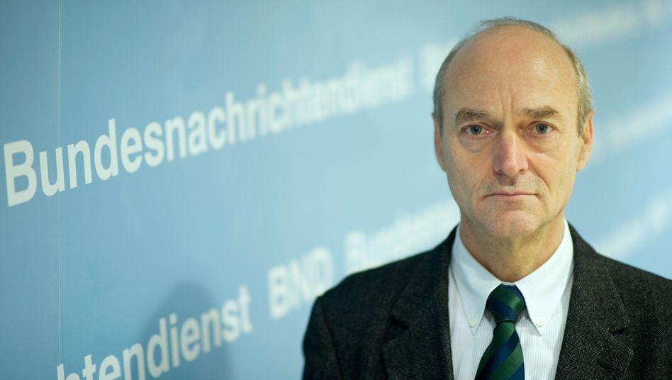 BND-Präsident Schindler: Der FDP-Mann verärgert die eigene Partei