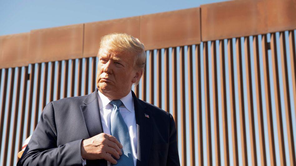 US-Präsident Trump im September an der mexikanischen Grenze