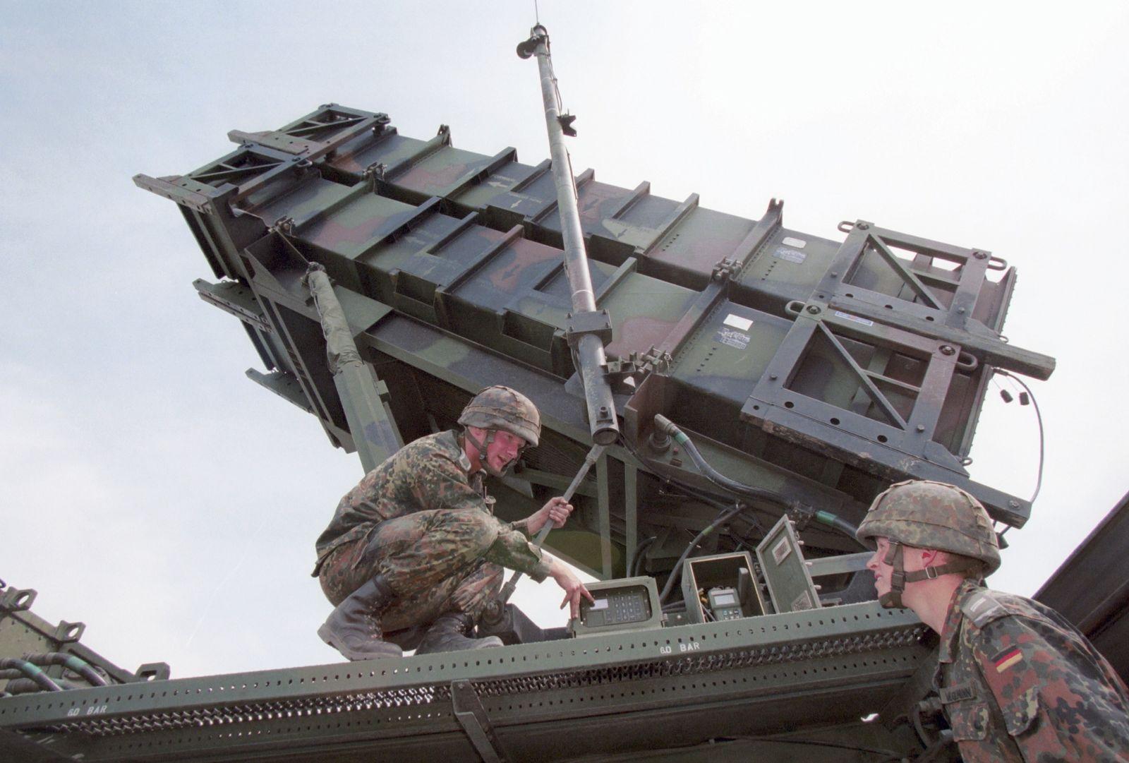 NICHT VERWENDEN Bundeswehr/ Patriot-Raketen
