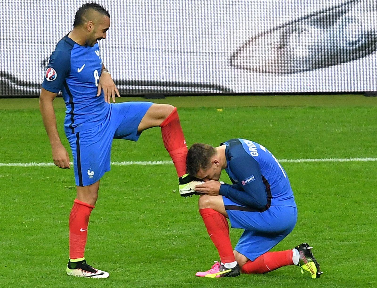 Frankreich Vs Island