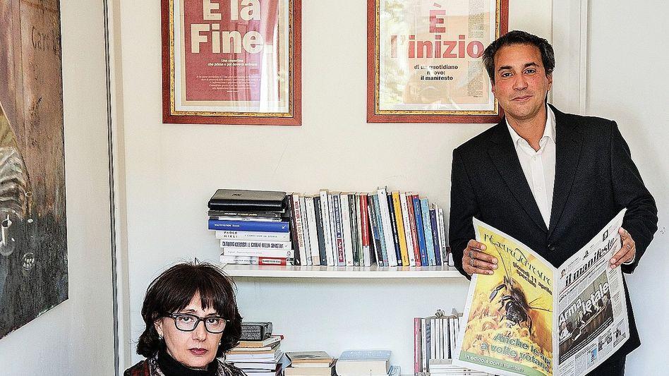 »Manifesto«-Chefs Norma Rangeri, Bartocci: »Sechs Leben haben wir schon verbraucht«