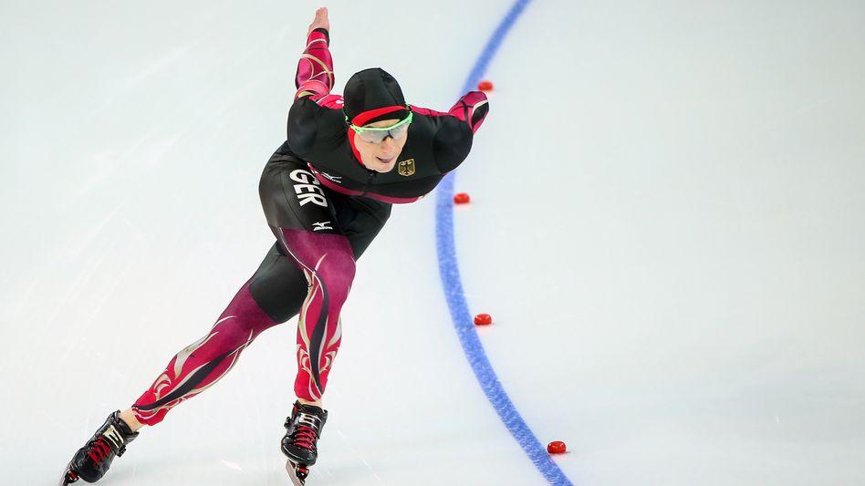 Robert Lehmann-Dolle bei den Olympischen Winterspielen in Sotschi 2014