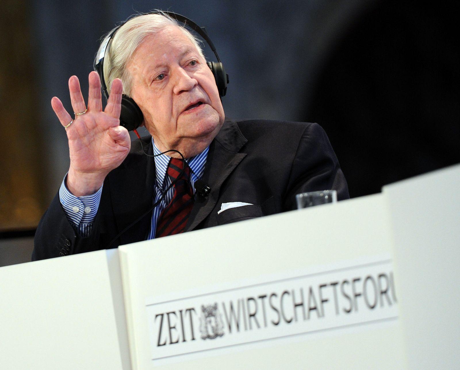 Zeit Wirtschaftsforum / Schmidt