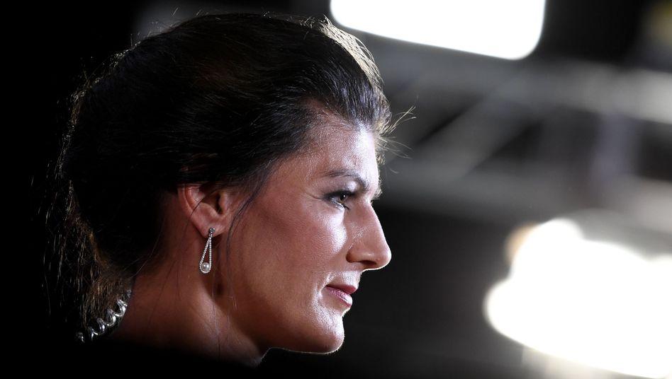 Sahra Wagenknecht beim Linken-Parteitag