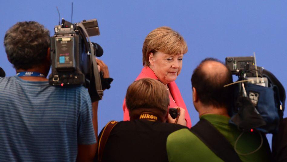 "Bundeskanzlerin Angela Merkel: ""Kälte und sogar Hass in deren Herzen"""