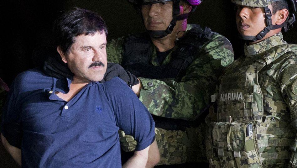 """Joaquín """"El Chapo"""" Guzmán (Archivbild)"""