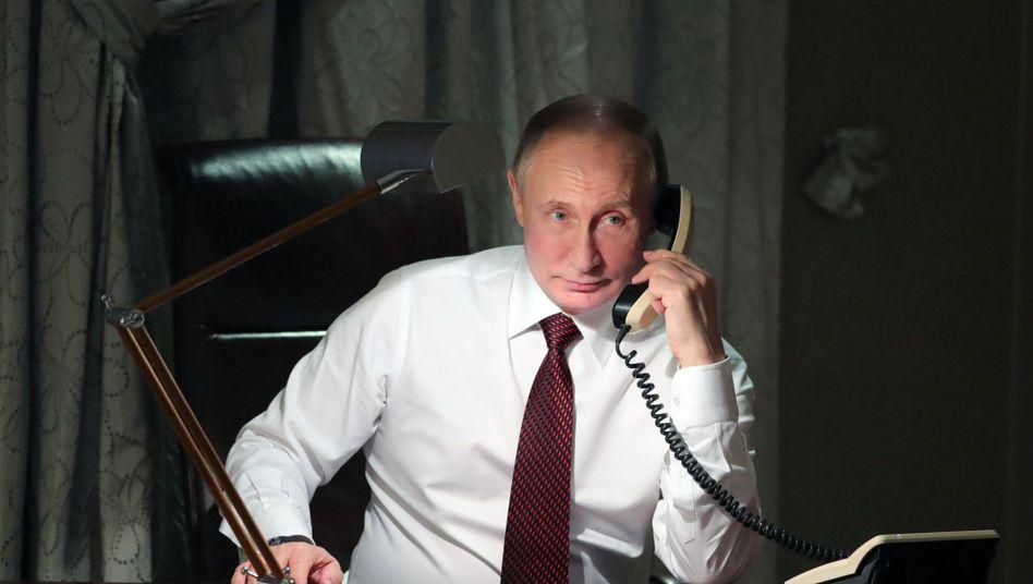 """Wladimir Putin über Donald Trump: """"Er weiß sehr genau, was seine Wähler von ihm erwarten"""""""