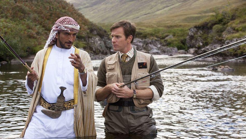 """Kinoromanze """"Lachsfischen im Jemen"""": Ein Mann beißt an"""