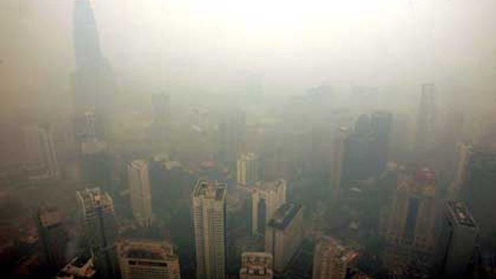 Smogalarm: Malaysia kämpft gegen Rauchwolken