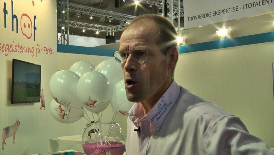 Adriaan Straathof auf der Euro-Tier-Messe: Sauenanlagen-Ausweitung in Ostdeutschland