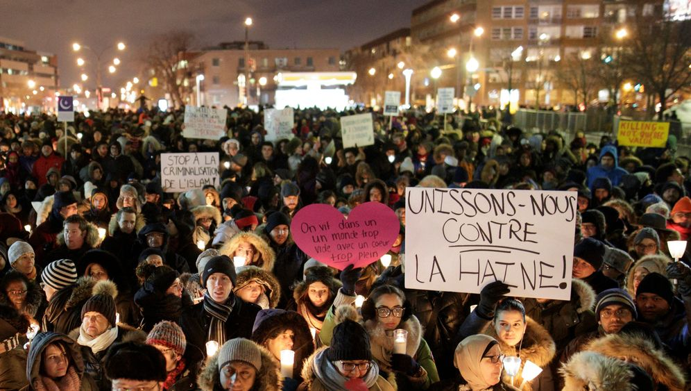 Anschlag auf Moschee in Québec: Mitgefühl und Trauer