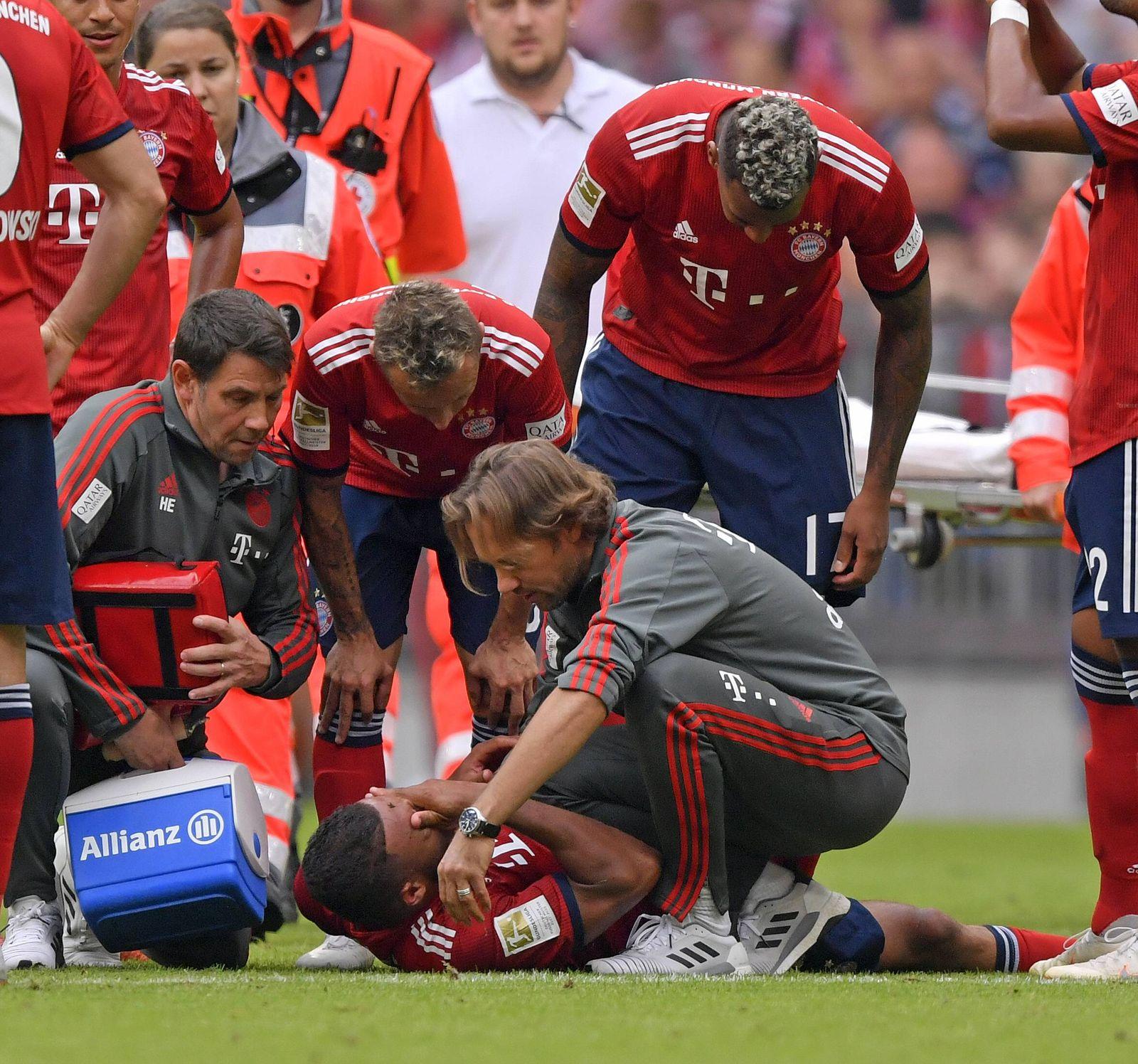 15 09 2018 Fussball 1 Bundesliga 2018 2019 3 Spieltag FC Bayern München Bayer Leverkusen in