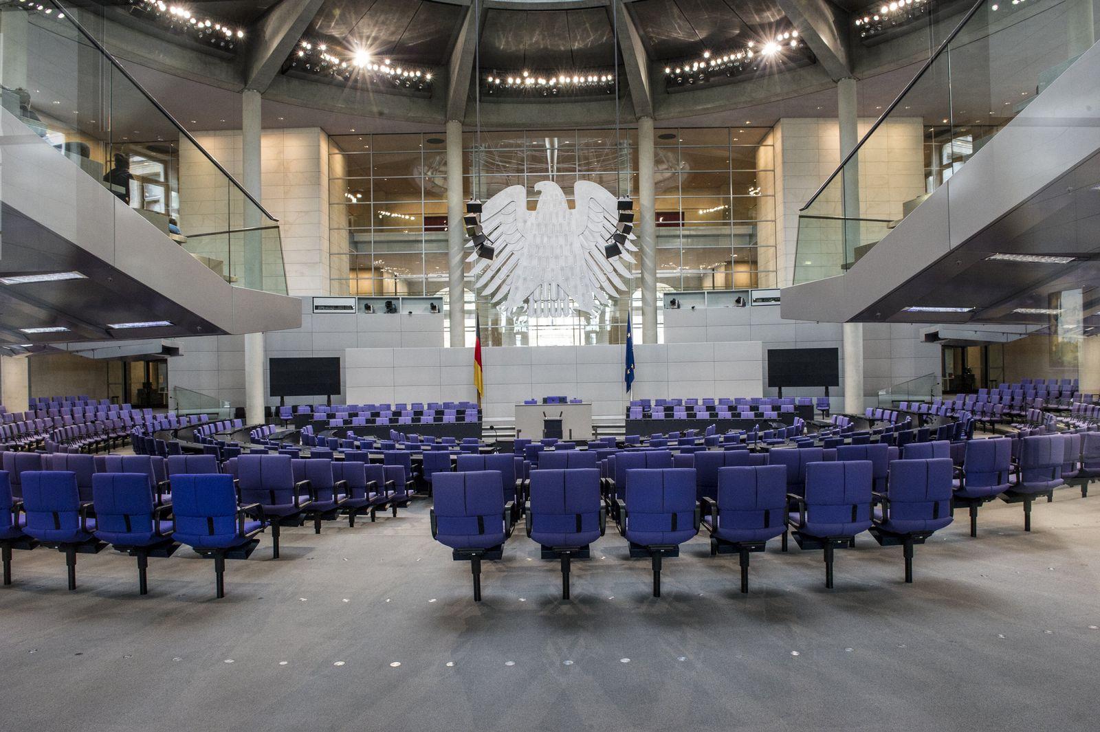 Plenarsaal/Bundestag