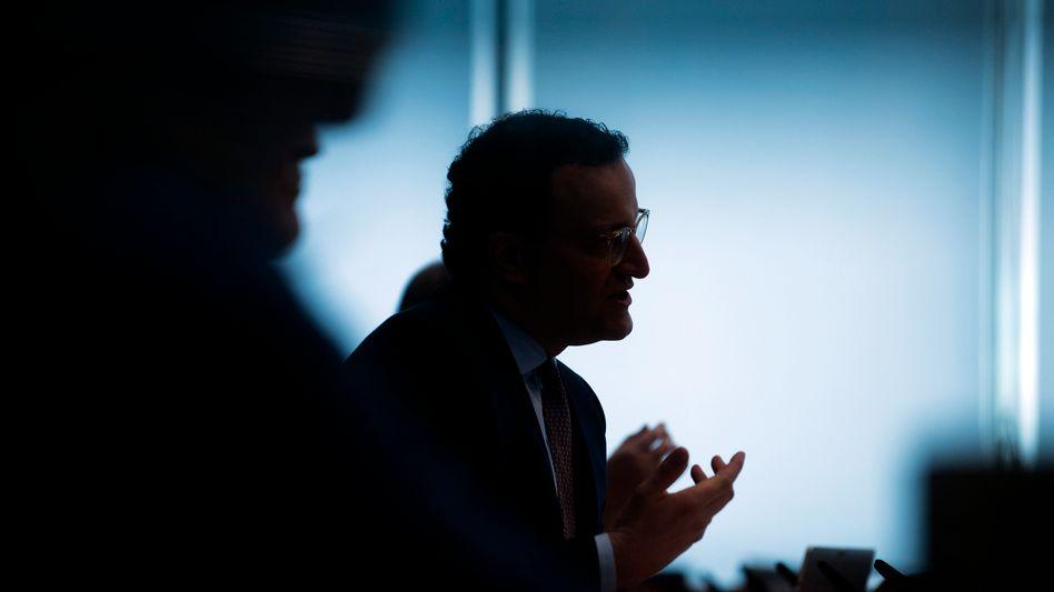 Gesundheitsminister Spahn: Falsche Hoffnungen geweckt
