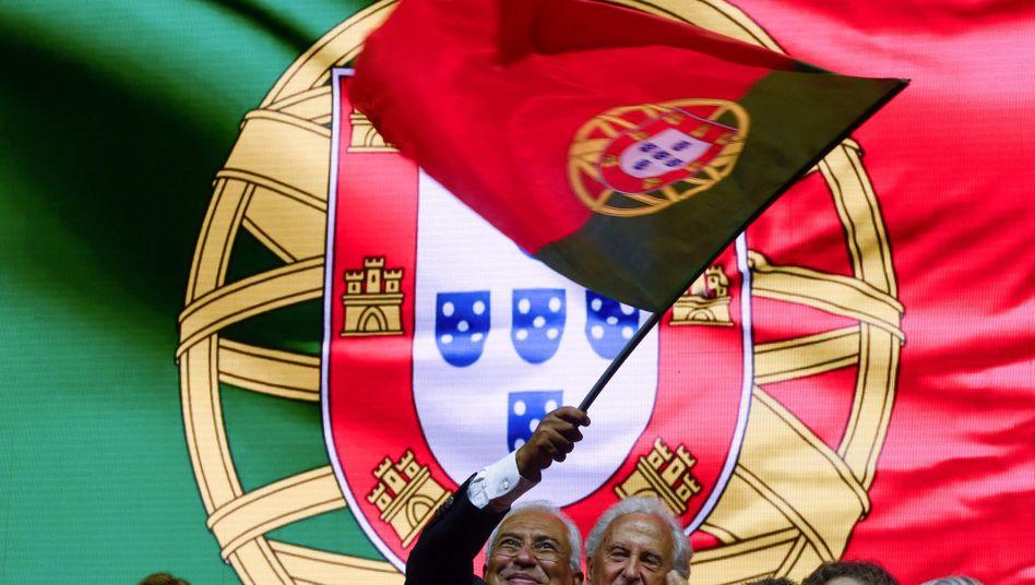António Costa will Portugal weiter regieren - viele Portugiesen wollen das auch