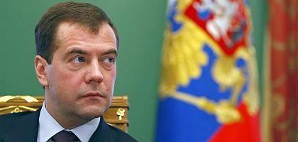 Russlands Präsident Medwedew: Abgesichert gegen die Finanzkrise?