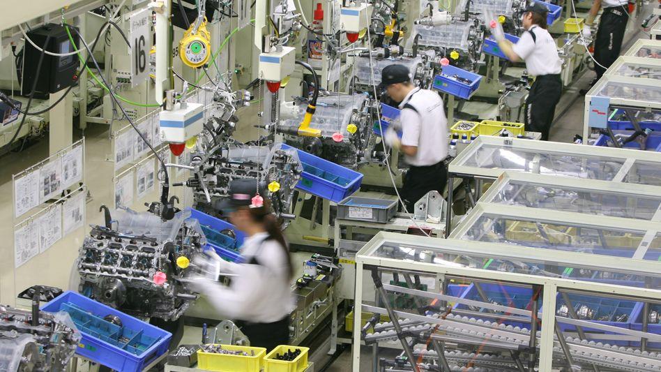 Toyota-Produktion in Japan: Keine Pläne nach dem 9. Mai