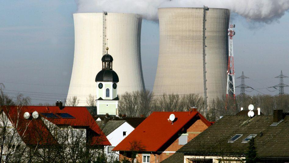 Atomkraftwerk Philippsburg (im Januar 2005): Mediziner wollen Eltern beruhigen