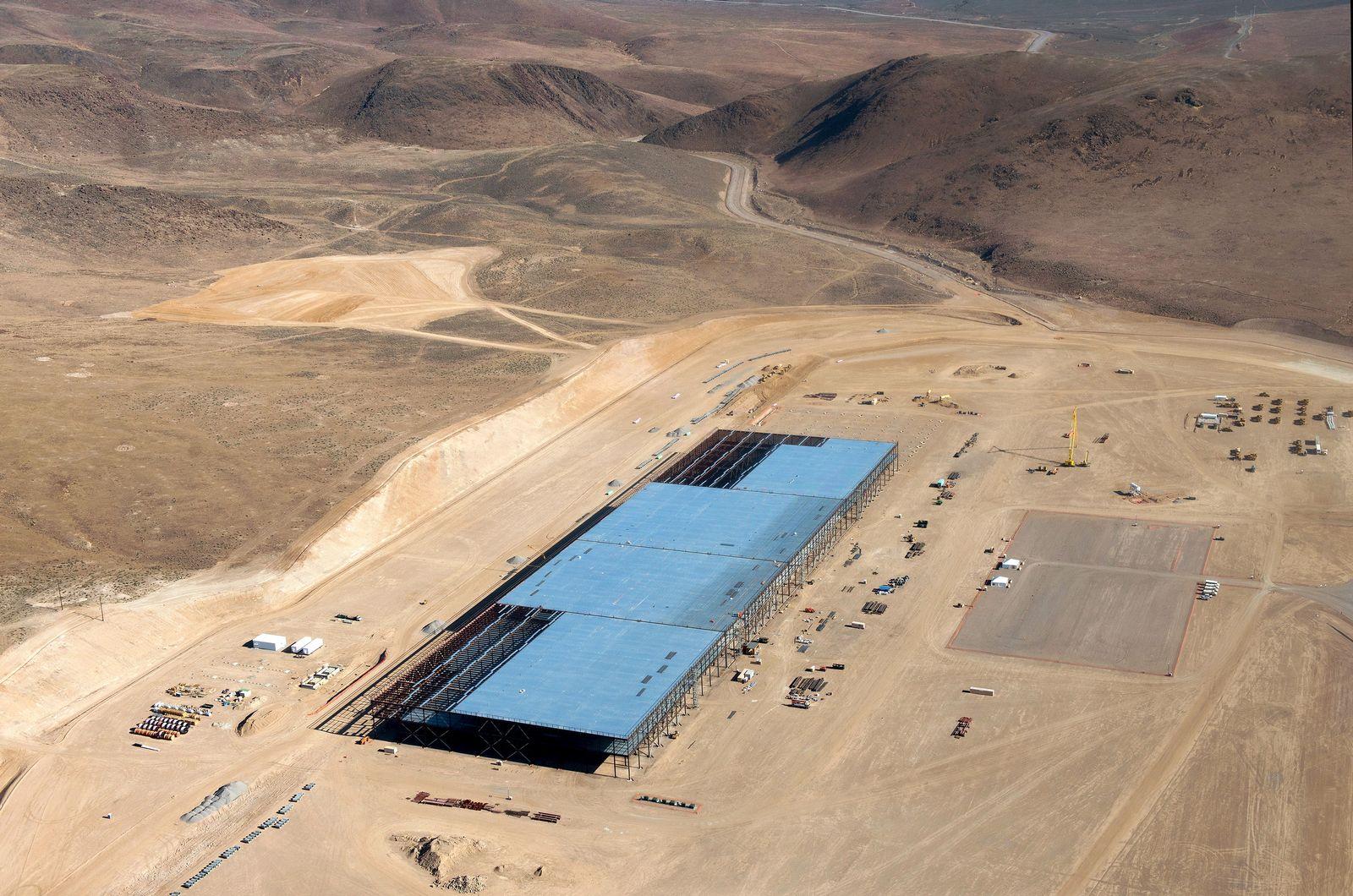Tesla Gigafactory Baustelle
