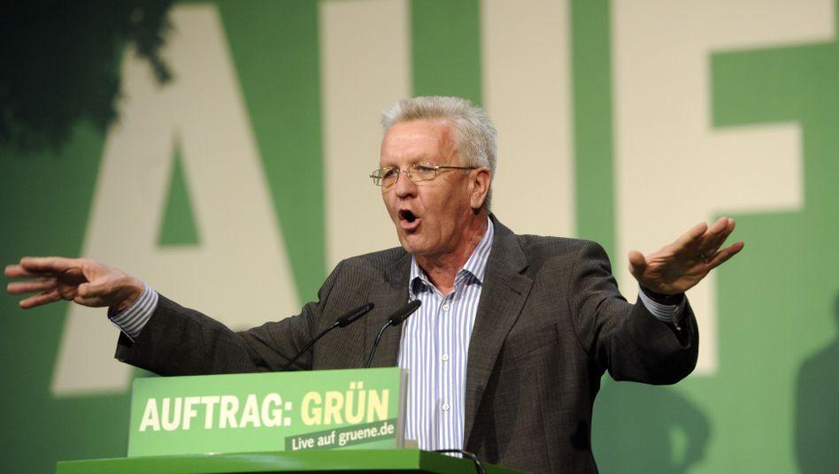 """Designierter Ministerpräsident Kretschmann: """"Nicht zu schaffen"""""""