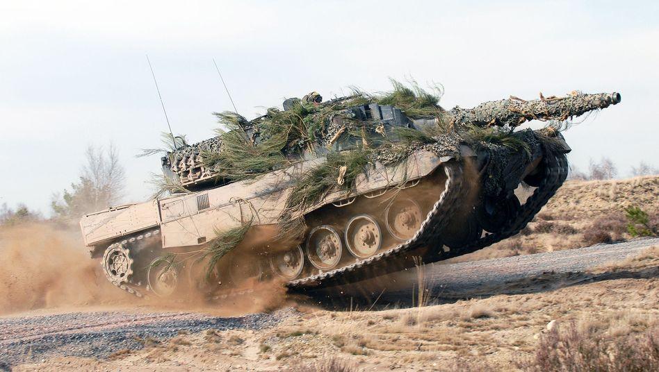 """""""Leopard 2""""-Panzer (Archiv)"""