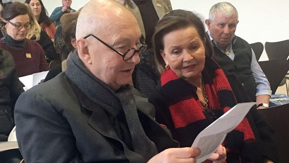 Georg und Elke Baselitz (Archiv)