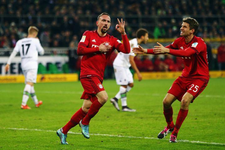 Bayern-Torschütze Ribéry: Zwei Sieger
