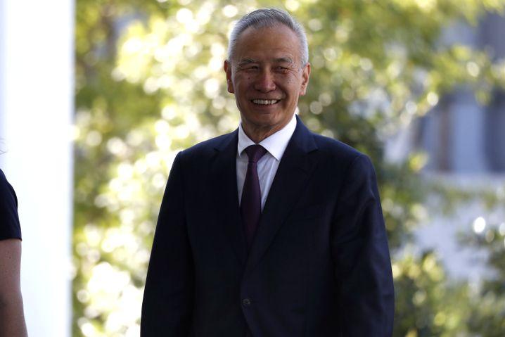 Chinesischer Chef-Unterhändler Liu He: Trump verhandelt aus schwacher Position