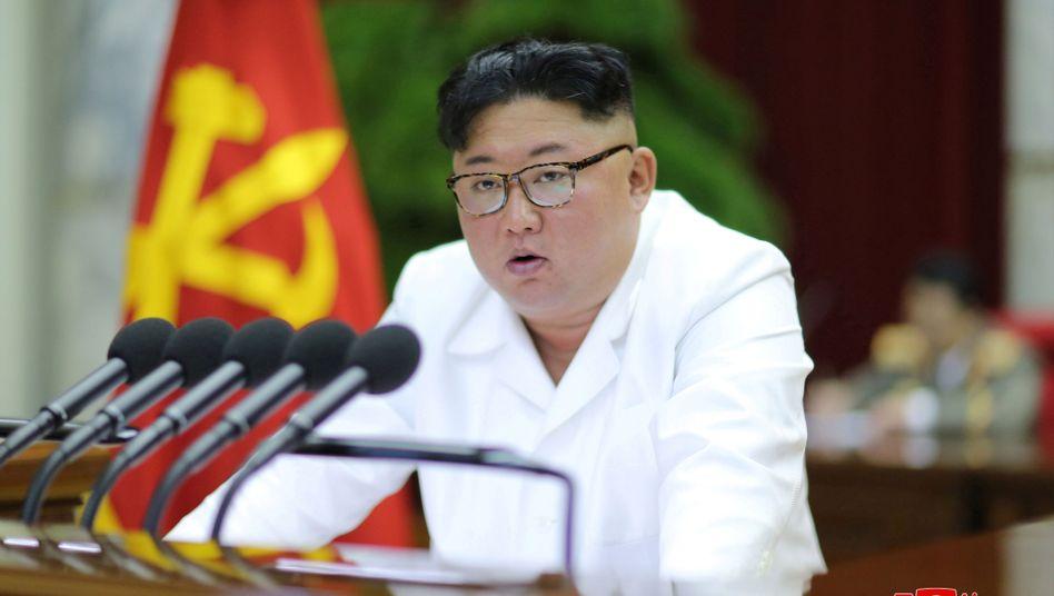 """Kim Jong Un: """"Souveränität und Sicherheit des Landes vollständig gewährleisten"""""""