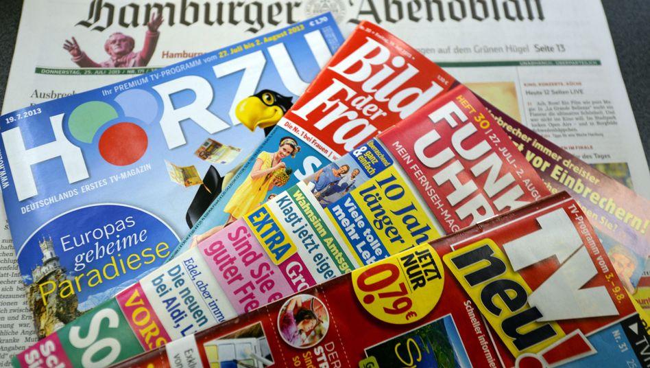 Springer-Titel: Ein großer Teil der Printsparte wird verkauft