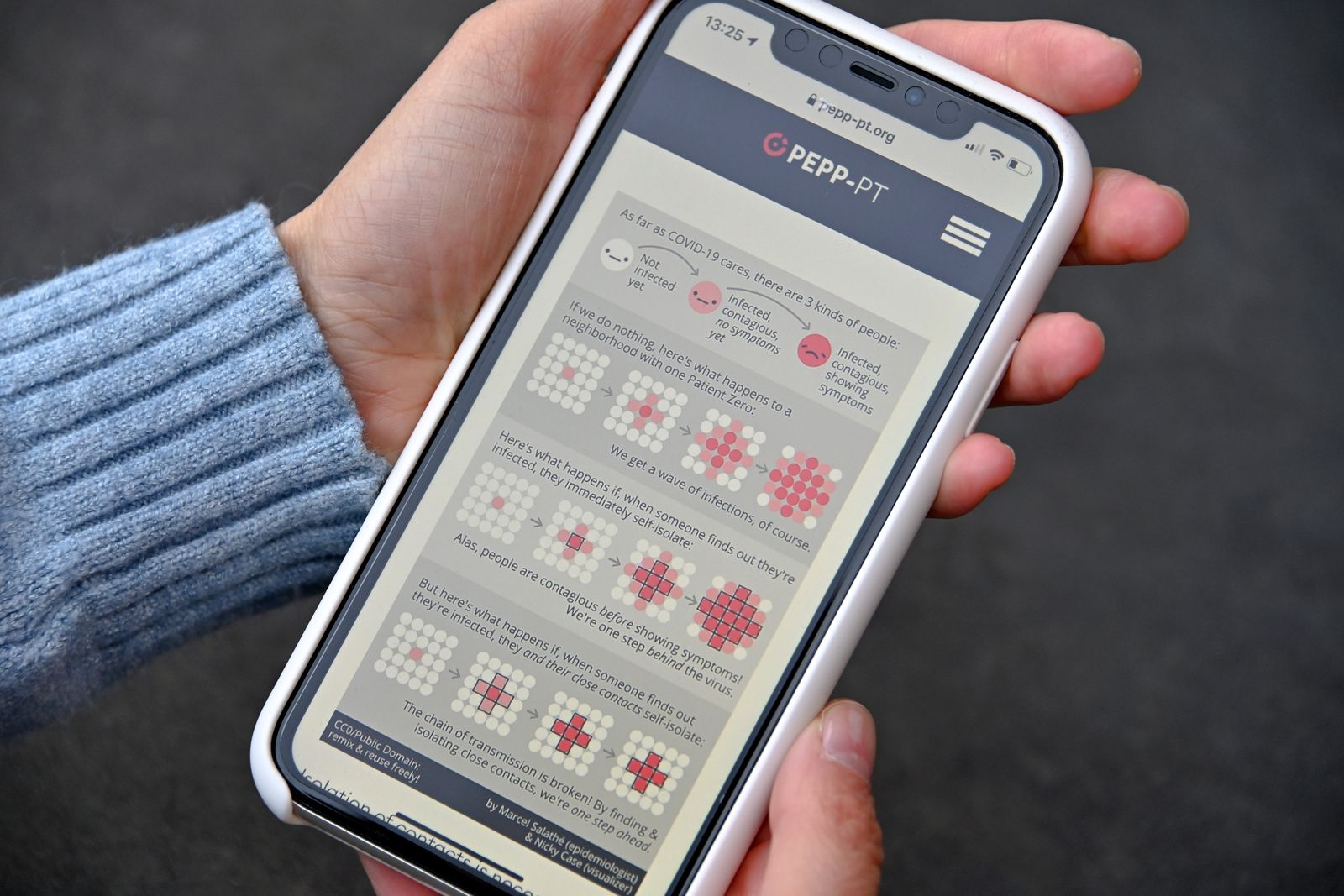 European Pepp-PT coronavirus app, Cologne, Germany - 17 Apr 2020