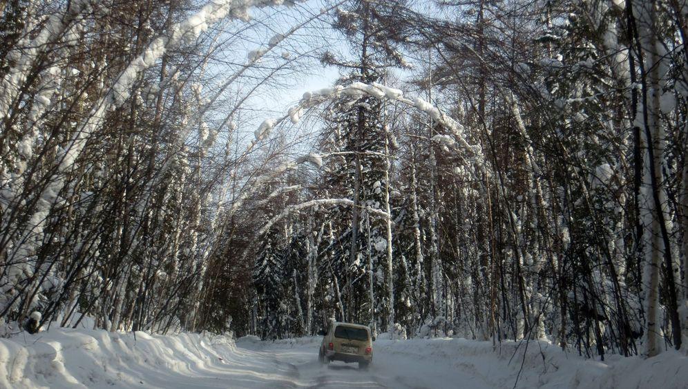 Im Dacia zum Nordpolarmeer: 4000 Kilometer über Eis und Schnee