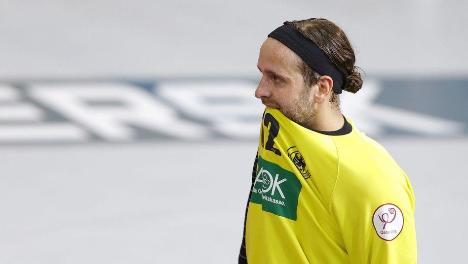 """DHB-Torwart Heinevetter: """"Nicht unser bestes Spiel gemacht"""""""