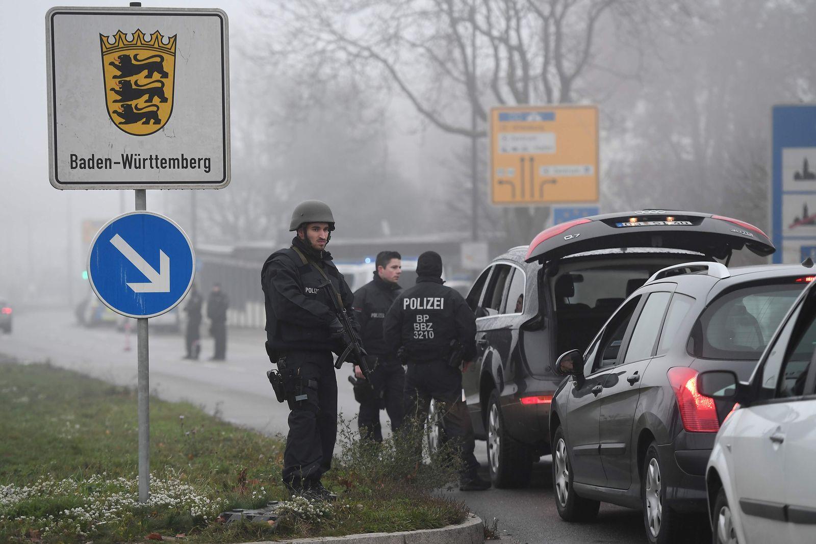 Strassburg Grenzkontrollen