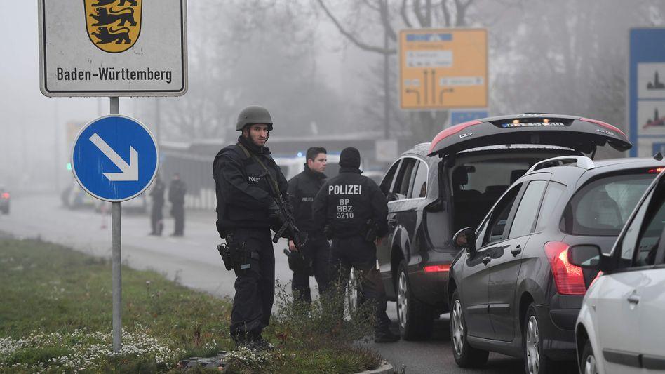 Grenzkontrolle in Deutschland: Chérif C. war bereits in drei Ländern inhaftiert.