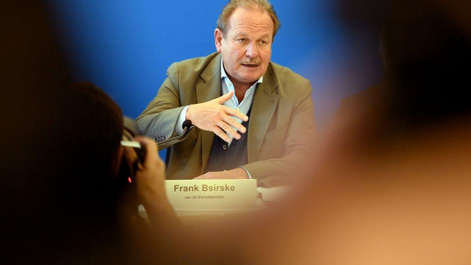 """""""Ich werde jedenfalls hingehen"""" - sagt Ver.di-Chef Frank Bsirske"""