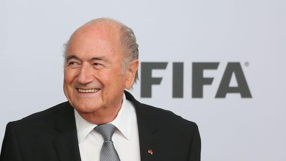 Fifa-Boss Blatter: Kritische Passagen fehlen