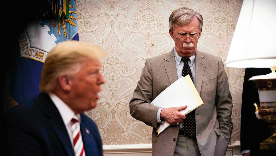 "John Bolton in the Oval Office in 2019: ""Part of Trump's difficulty with international affairs is his lack of any philosophical basis. He has no philosophy."""