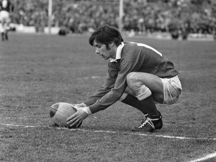 Barry John gilt als einer der besten Fly-Halfs der Rugby-Geschichte