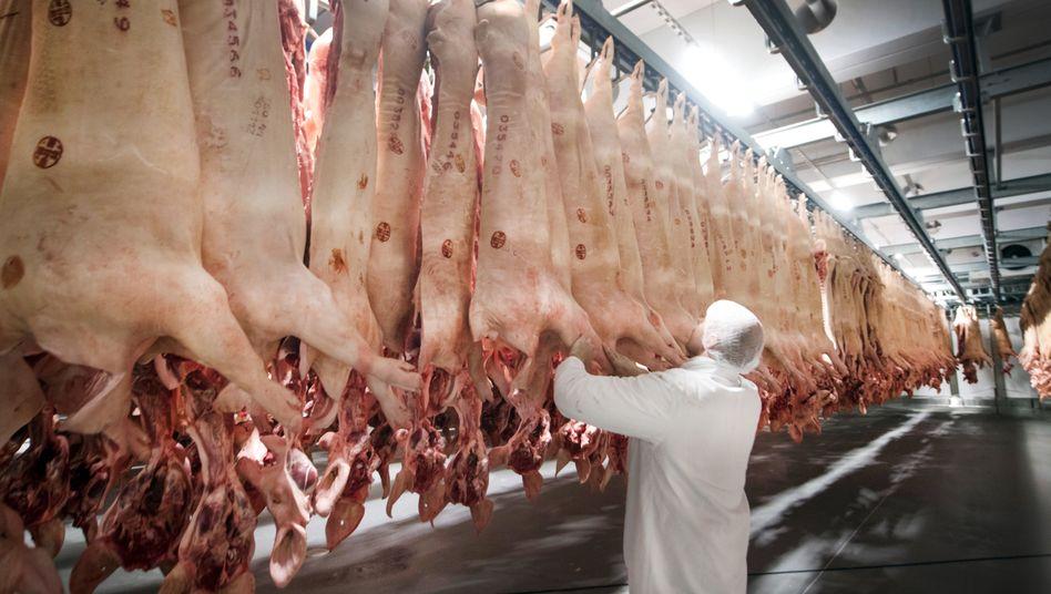 Kühlhaus des Fleischherstellers Tönnies (Archivfoto)