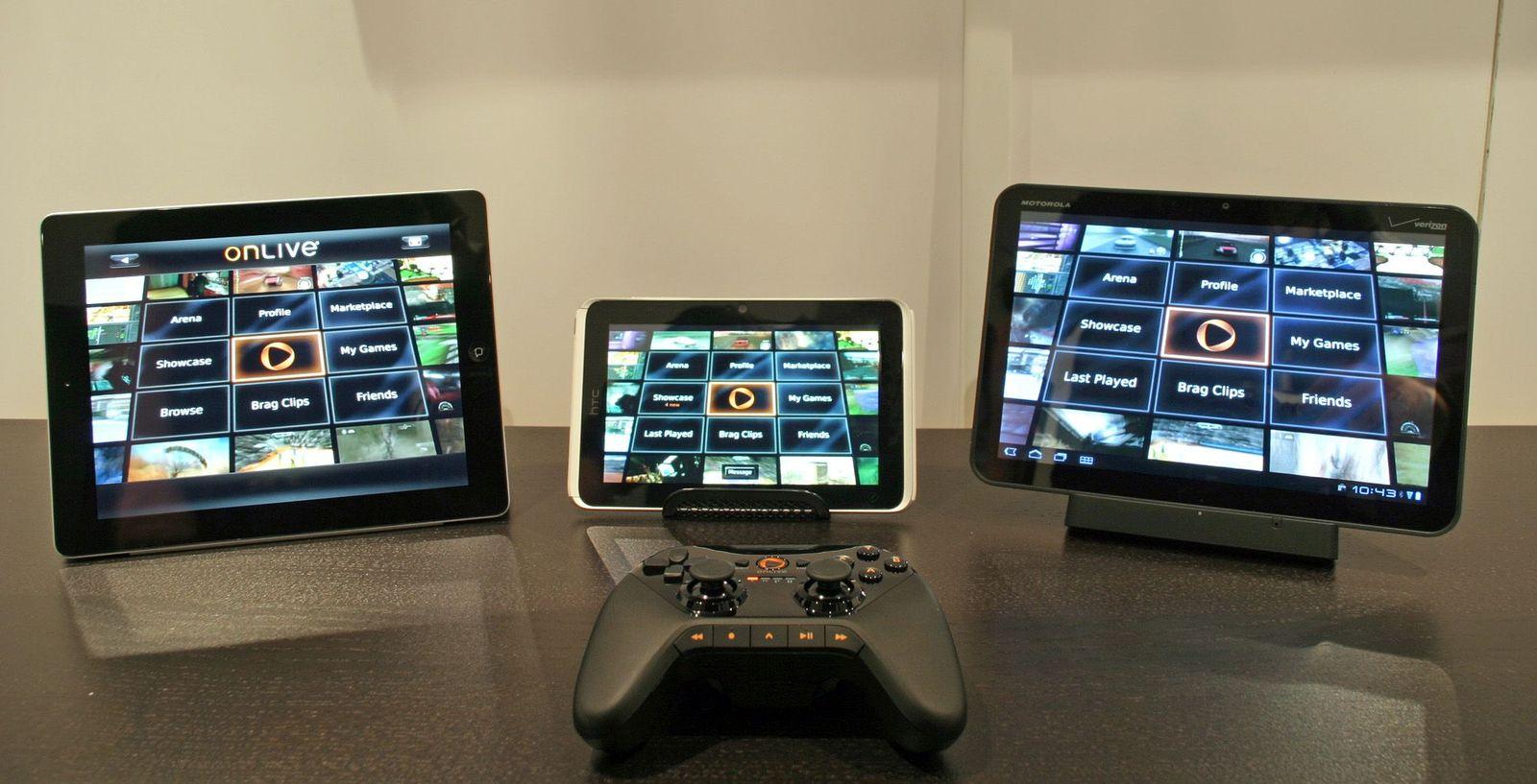E3 2011 / Onlive Tablet