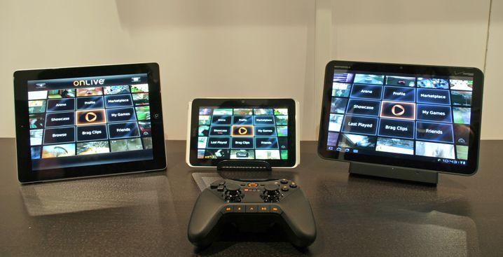 OnLive: Konsolenspiele auf Tablets spielen