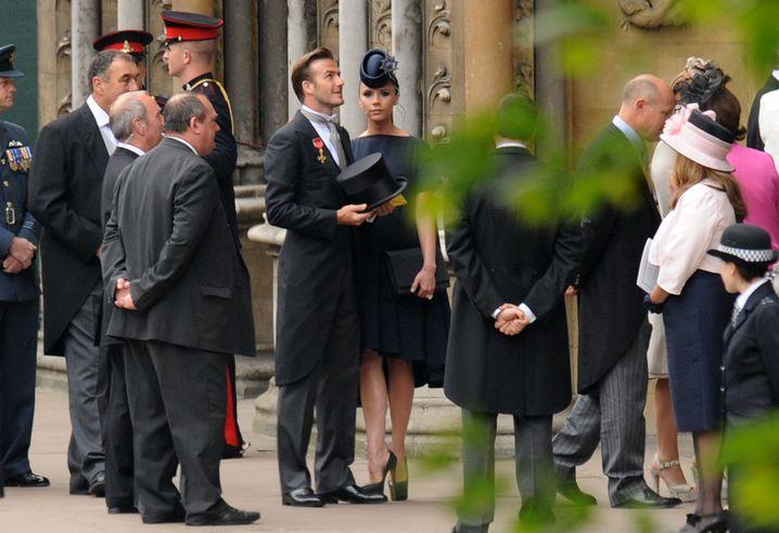David Beckham und Gattin Victoria: Aufgemotzt