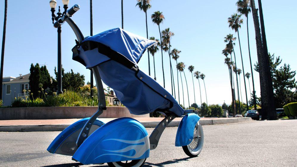 Abgefahrene Kinderwagen: Schubkarren für Rodzlöffel