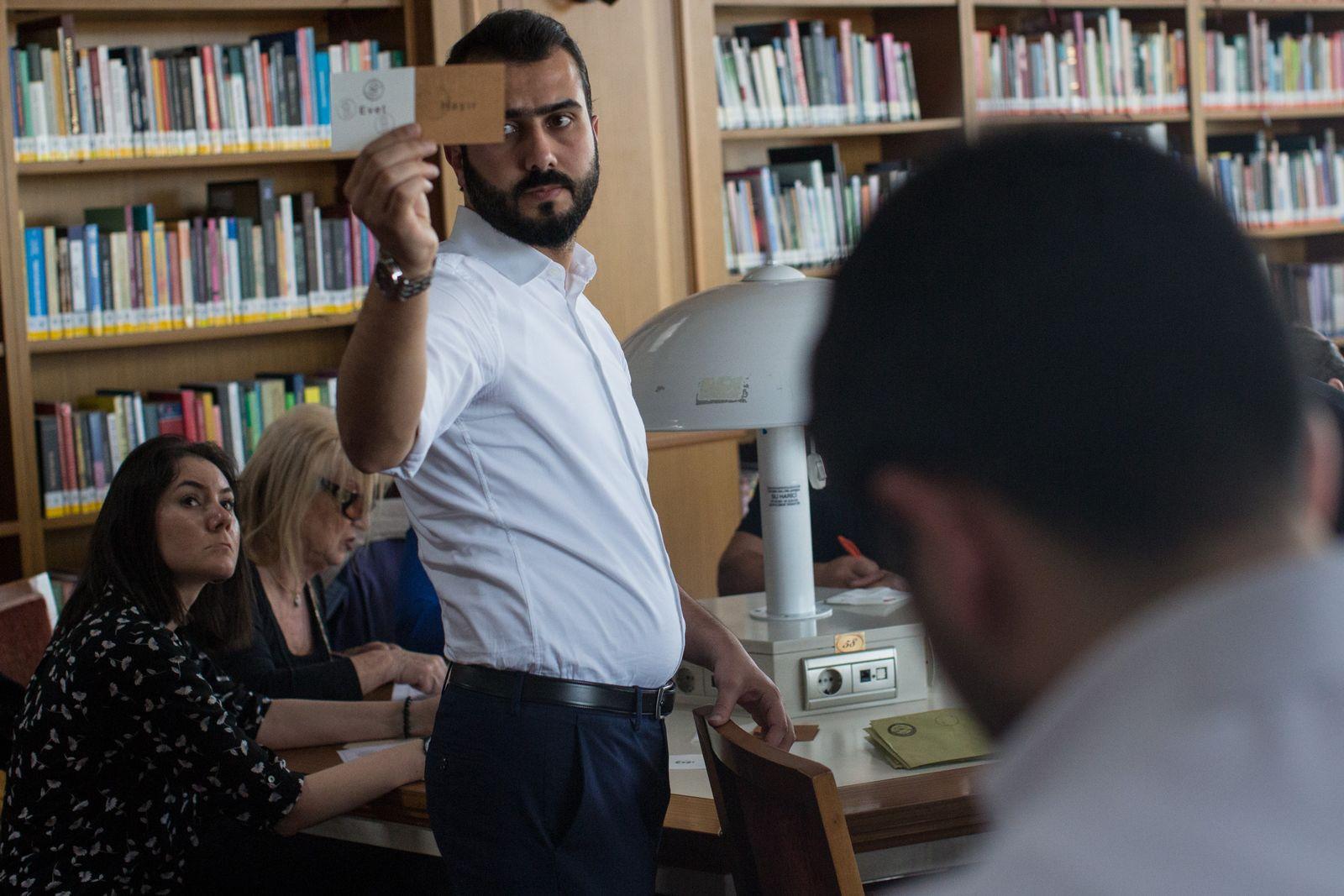 Wahlbeobachter Türkei Referendum