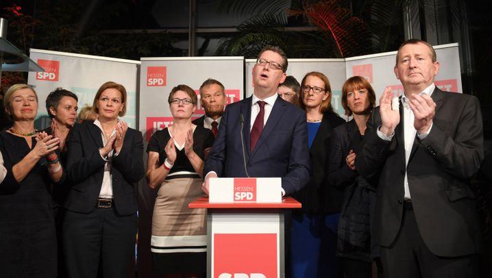 Landtagswahl in Hessen 2018: Die Stimmung der Parteien in Bildern