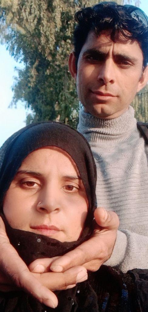 The last photo of Saba Khan and Muhammad Gulzar together.